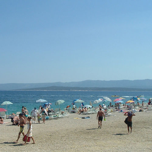 Croatia - Zlatni Rat: One Of Croatia's finest beaches